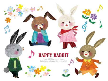 HAPPY RABBIT 1