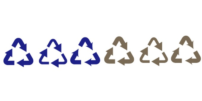 Recycle mark (triangle) 2