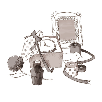 Gift of miscellaneous goods