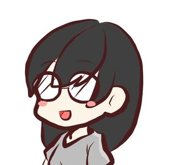 A woman wearing eyeglasses
