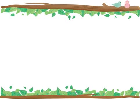 分支和葉子框架