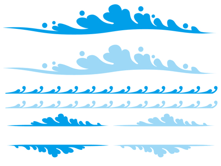 Wave material set