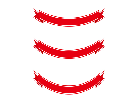 Ribbon 19 wire - red