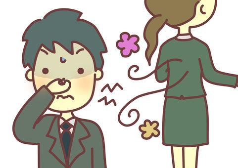 Odor problem 3