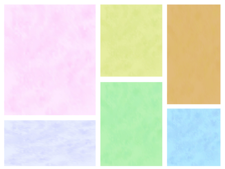 Set of watercolor style backgrounds