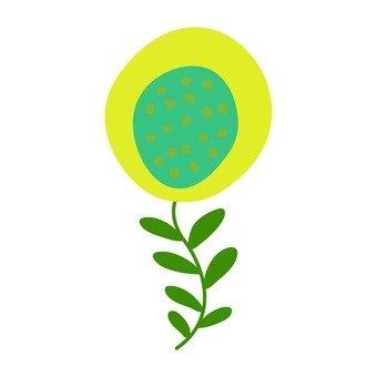 斯堪的納維亞花(黃色)