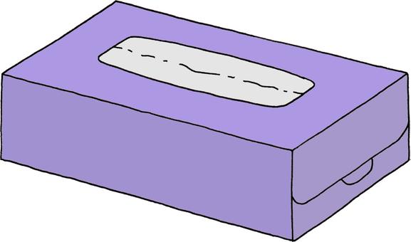 Tissue purple 2 (no character)