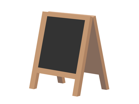 Signboard (black board)
