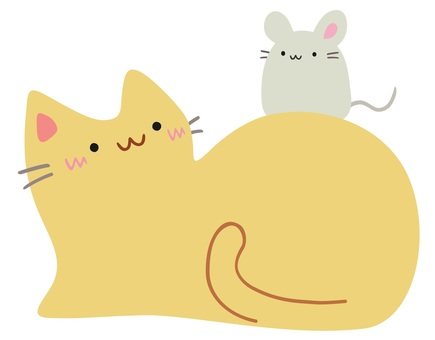 Friend cat and mouse 2