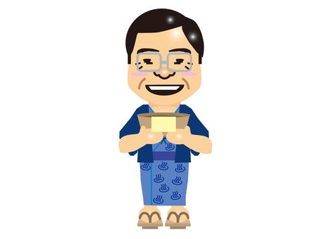 Hot spring businessman