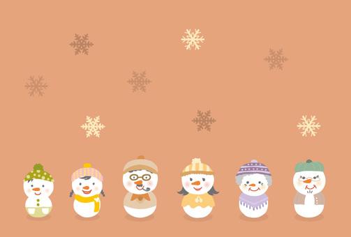 雪人/家庭