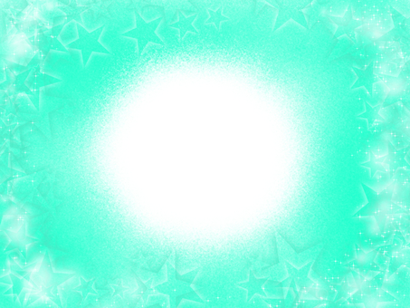 White circle green background
