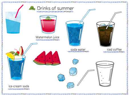 Summer cold drink