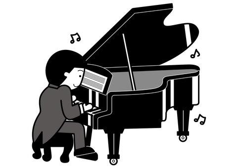 그랜드 피아노 2c