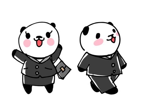 はたらくパンダ