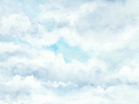 Watercolor sky-7