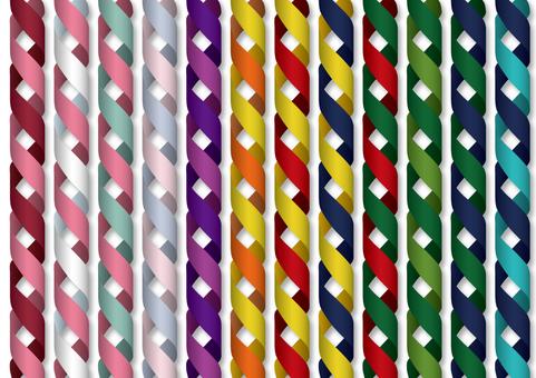 Ribbon spiral line set