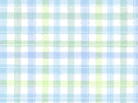 Check pattern blue