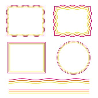 Pattern brushes (2 types)