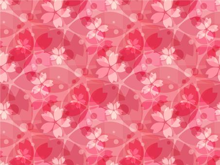 Cherry background 3_ pattern _ red