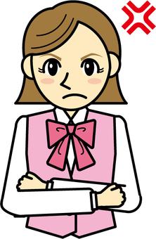 Women - receptionist 3