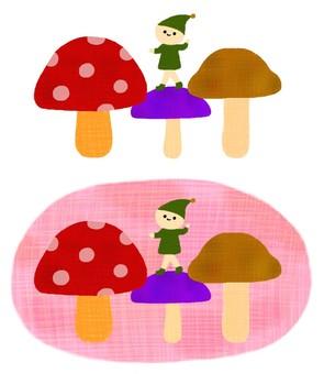 Mushrooms and dwarfs