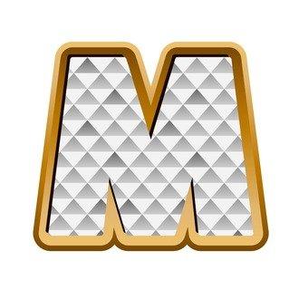 M (upper case)