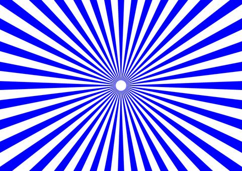 Radiation breakdown blue