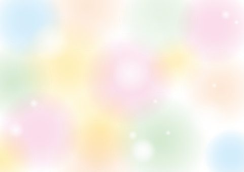 Fluffy background colorful