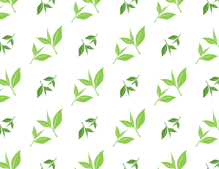Green tea pattern _ green
