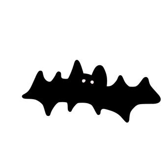 Black bat illustration