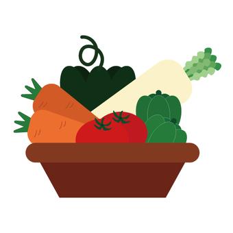 Vegetable (basket)