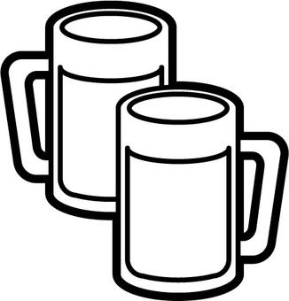 Beer B & W