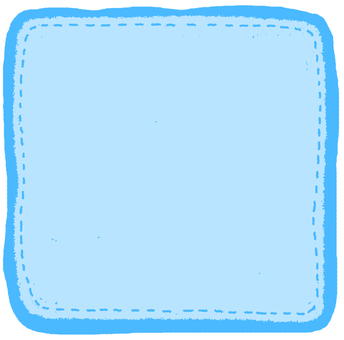Blue Comment Flake Seal (Square)