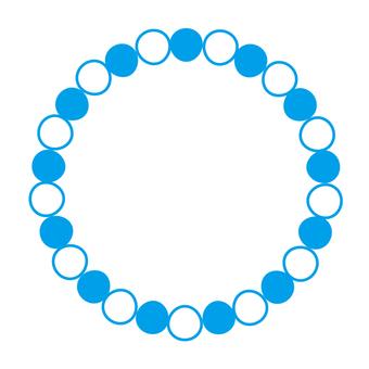 Circular material -221