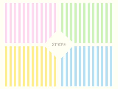Stripe × 4