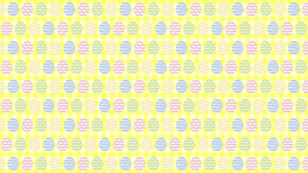 Easter egg gingham check Y