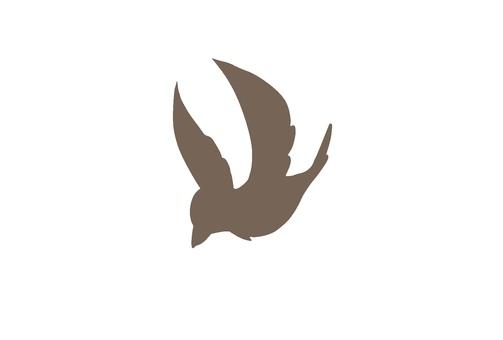 Bird illustration 2 (silhouette)