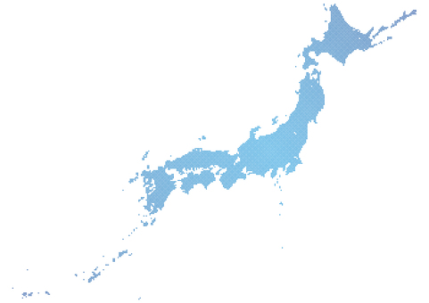 Dot Japan Map d