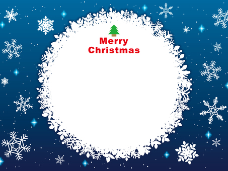 Christmas image 002 blue