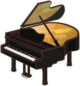 """그랜드 피아노 """"블랙"""""""