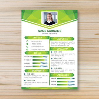 Business template resume 9