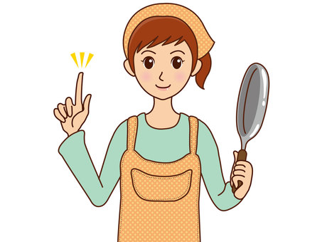 Person / Girl / Cooking