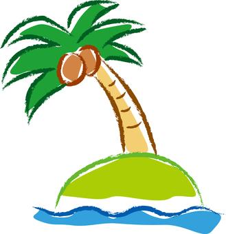 Palm tree 01 - color 02