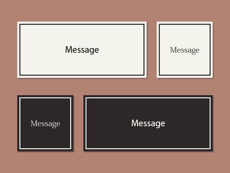 Label monotone rectangle box line note