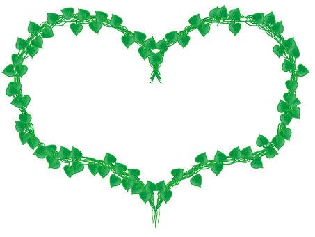 框架心臟植物