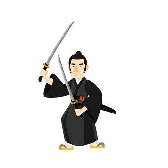 Samurai of two swords