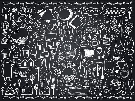 018 Blackboard Art Animal Accessories Various