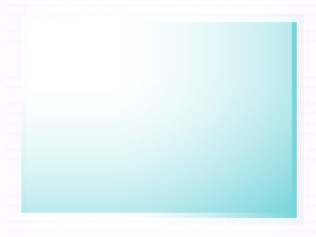 Blue Green Frame
