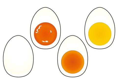 Boiled egg set